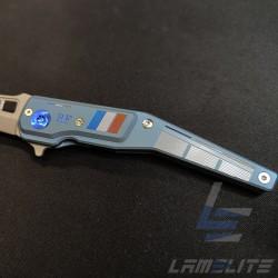 couteau de poche pliant lame acier inoxydable