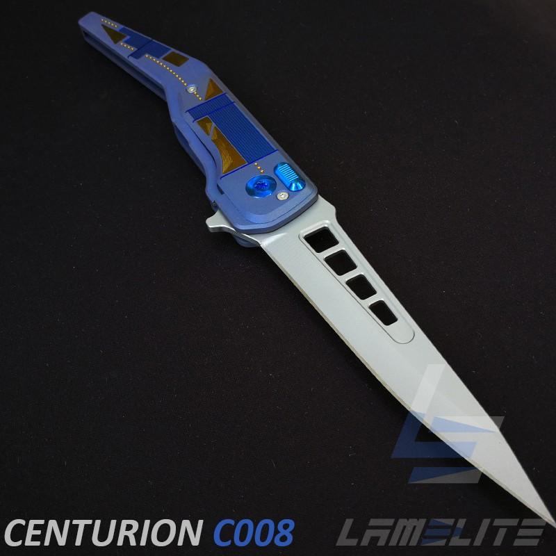 couteau d'art Français exceptionnel. ouverture flipper