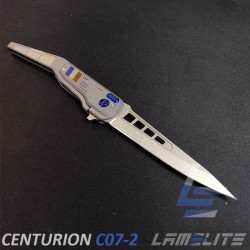 luxury french titanium knife